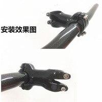 ZNIINO UD carbon stem super light black matte full carbon fiber stem road bike stem MTB 25.4*28.6*60mm/70mm/80mm/90mm/100mm