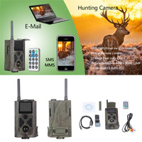 HC 500M Digital Infrared HD Outdoor Hunting Trail Cam 12MP 1080P Video Night Vision Wildlife Photo Traps GSM Hunting Video Cam