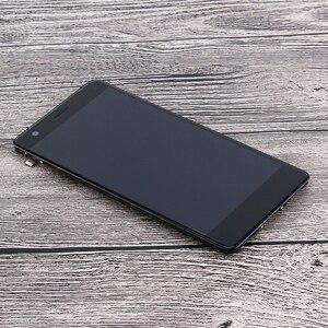 Image 5 - Ocolor לzte להב V770 LCD תצוגת מסך מגע עם מסגרת Digitizer עצרת + כלים עבור ZTE להב V770 כתום נבה 80