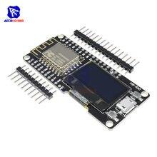 Module WIFI sans fil CP2102, panneau de développement, écran OLED 0.96 pouces avec broche pour Anrduino NodeMCU WeMos, ESP8266