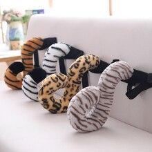 1 шт. 32/38 см Моделирование носимых забавные хвост тигра сатиновая юбка-американка лемура плюшевые игрушки мягкие Kawaii милые подарки для Для детей друг