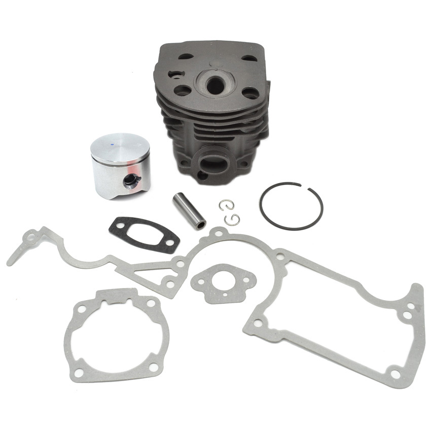 Cylinder Assy Piston Assembly Kit with Ring Gasket Set fit Husqvarna 51 Chainsaw Repalces Parts 503168301 501761802 manufacturers 5200 chainsaw cylinder assy cylinder kit 45 2mm parts for chain saw 1e45f on sale