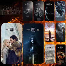 Cover Case For Coque Samsung Galaxy J1 2015 Phone Back Cover Game Of Thrones Case For Samsung J1 2015 SM-J100F J100 J100H J100F(China)