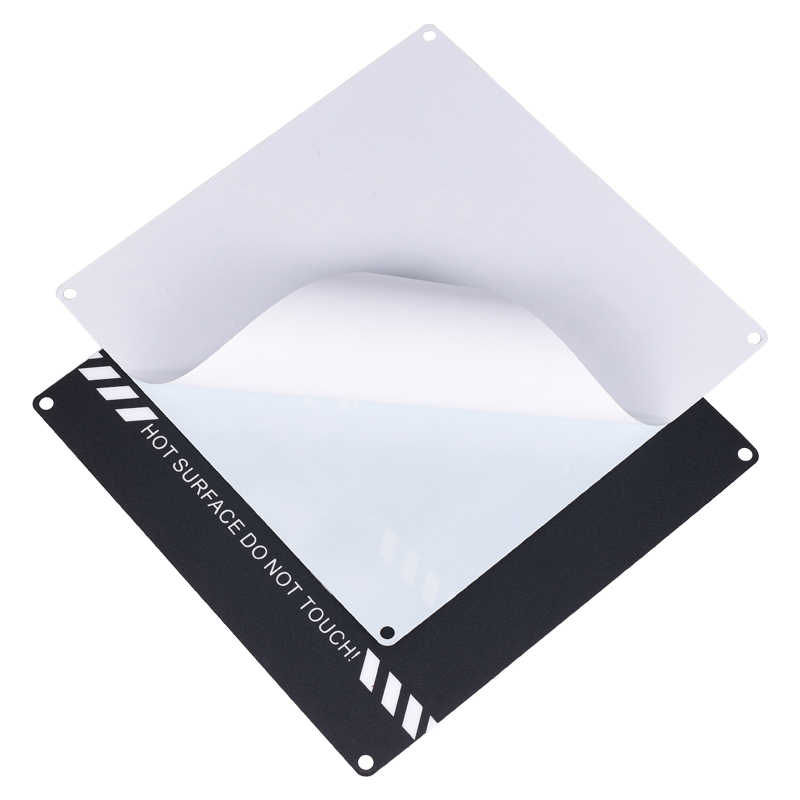 220*220 มิลลิเมตร 3D อุปกรณ์เสริมสำหรับเครื่องพิมพ์สีแดงจิตรกรเทปพิมพ์พิมพ์สติกเกอร์สร้างแผ่นเทปสำหรับ 3D เครื่องพิมพ์ bigtreetech
