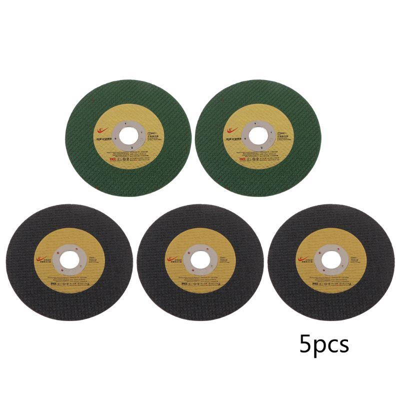 5pcs Abrasive Metal Cutting Saw Blades Cut Off Wheel Grinding Disc High Performance