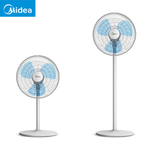 Dual Use Height Adjustable Electric Floor Stand Cooling Fan Desk Fan Mute  Household Dormitory Standing Fan Natural Wind Cooler