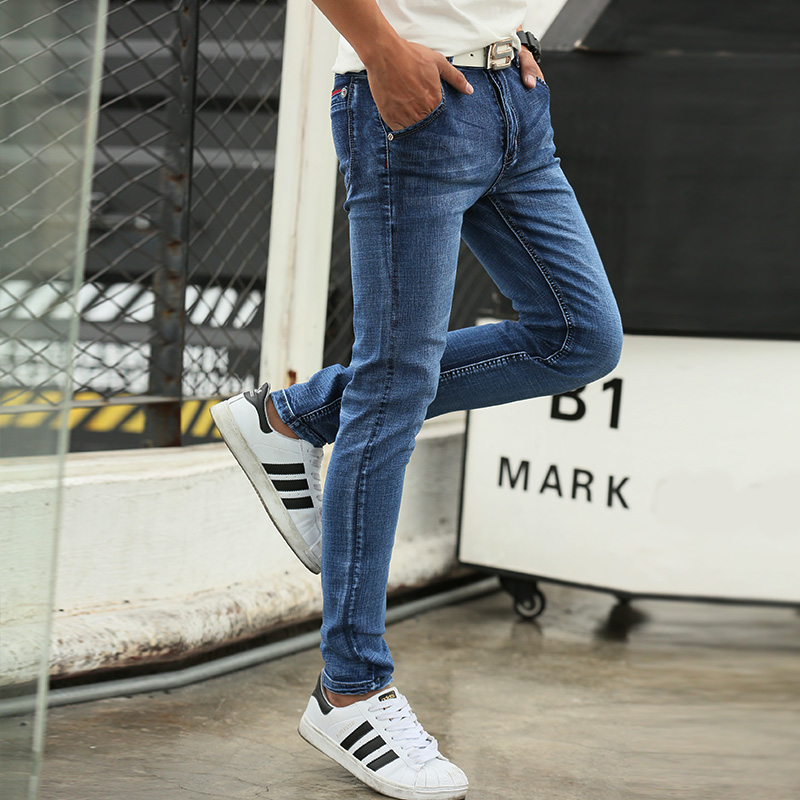 2016 new arrival winter jeans men Fashion elasticity mens jeans high quality Comfortable Slim male cotton jeans pants ,27-36.