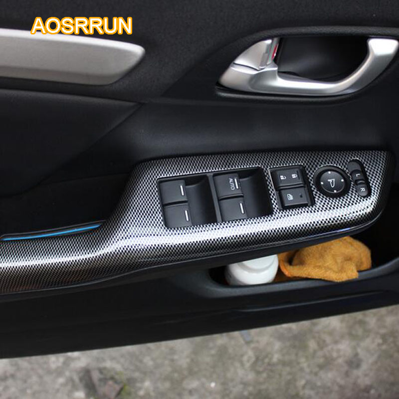 https://ae01.alicdn.com/kf/HTB1fzTGdNOMSKJjSZFlq6xqQFXat/AOSRRUN-For-Honda-Civic-9th-carbon-fiber-interior-trim-adapted-For-Civic-8th-electric-Windows-protection.jpg