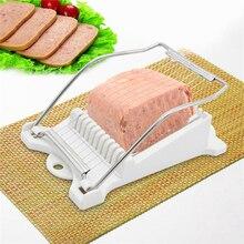 Нержавеющая сталь Ham для консервированного мяса овощерезка яйцо аппарат для нарезки картофеля кружочками Овощной кухонный инвентарь для тонкой нарезки