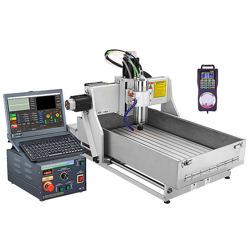 CNC 4030 router 2.2KW 3axis metal stone jewelry engraving cutting machine water tank