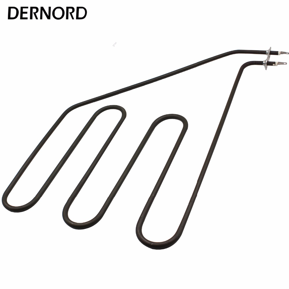 DERNORD 230V 1.5KW Sauna Heater Element 1500w Tubular Air Heating Pipe for Sauna Stove electric sauna heater element tubular air heater heating element tubular heater 2670w