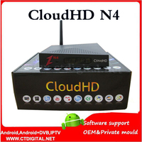 2015 NEWEST Cloud HD N4 DVB S HD TV Satellite Receiver CloudHD N4 Support Newcam WITHOUT