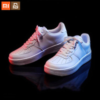 New xiaomi mijia 90 points retro leather shoes non slip wear resistant thick soled fashion comfortable leather upper smart home