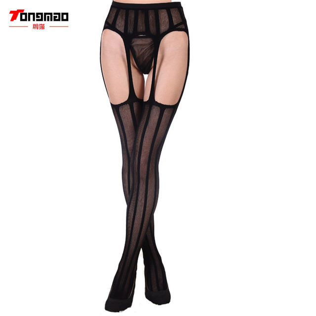 TONGMAO Hollow Out Transparent Stockings for Women