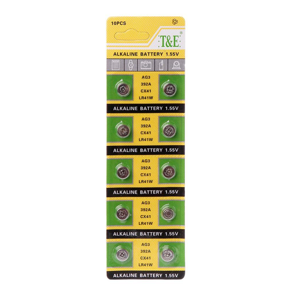 392-Lamp Chain Light-Watch Finger Cell AG3 SR41 L736 CX41 LR41 10PCS 192 384 Button-Batteries