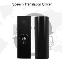 Tradutor de voz inteligente mini tradutor de linguagem ia dispositivo de tradução suportado para aprender a viajar compras
