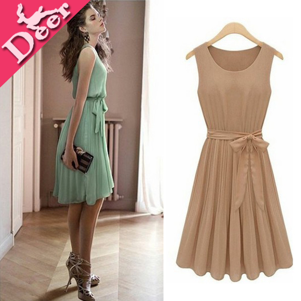 Tee Lenghth Teen Casual Dresses