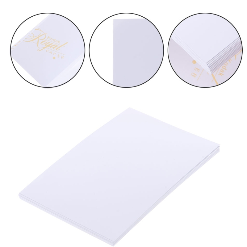 20Sheets 4x6 High Quality Glossy 4R Photo Paper 200gsm for Inkjet Printers