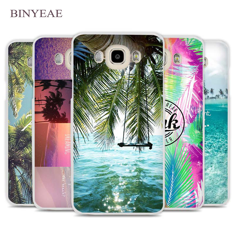 BINYEAE Aloha Summer Stripes Cell Phone Case Cover for Samsung Galaxy J1 J2 J3 J5 J7 C5 C7 C9 E5 E7 2016 2017 Prime