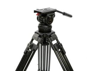 "Image 5 - Tetris TRIX 65 ""V12T profesyonel karbon Fiber Tripod Video kamera tripodu w/sıvı kafa yükü 12KG TILTA kulesi kırmızı Scarlet Epic"