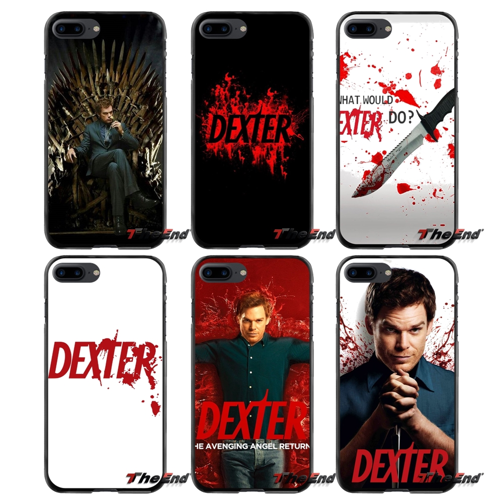 For Apple iPhone 4 4S 5 5S 5C SE 6 6S 7 8 Plus X iPod Touch 4 5 6 Dexter TV Series Accessories Phone Cases Covers