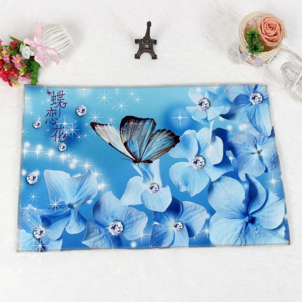 FS5 Butterfly Door Kitchen Carpets Memory Foam Bathroom Absorbent ...