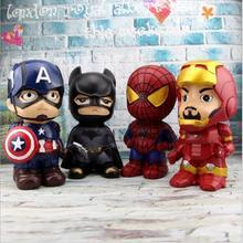 Avengers Large Capacity Piggy Bank Cartoon Creative Resin Children Birthday Gift Home Decoration Craft