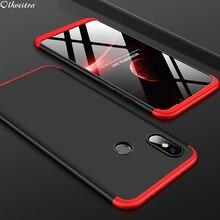 360 градусов полное покрытие для Xiaomi mi 8 mi 8 случай 3 в 1 Жесткий PC Shell протектор чехол для Xiaomi mi 8 SE mi 8 SE телефон Аксессуары