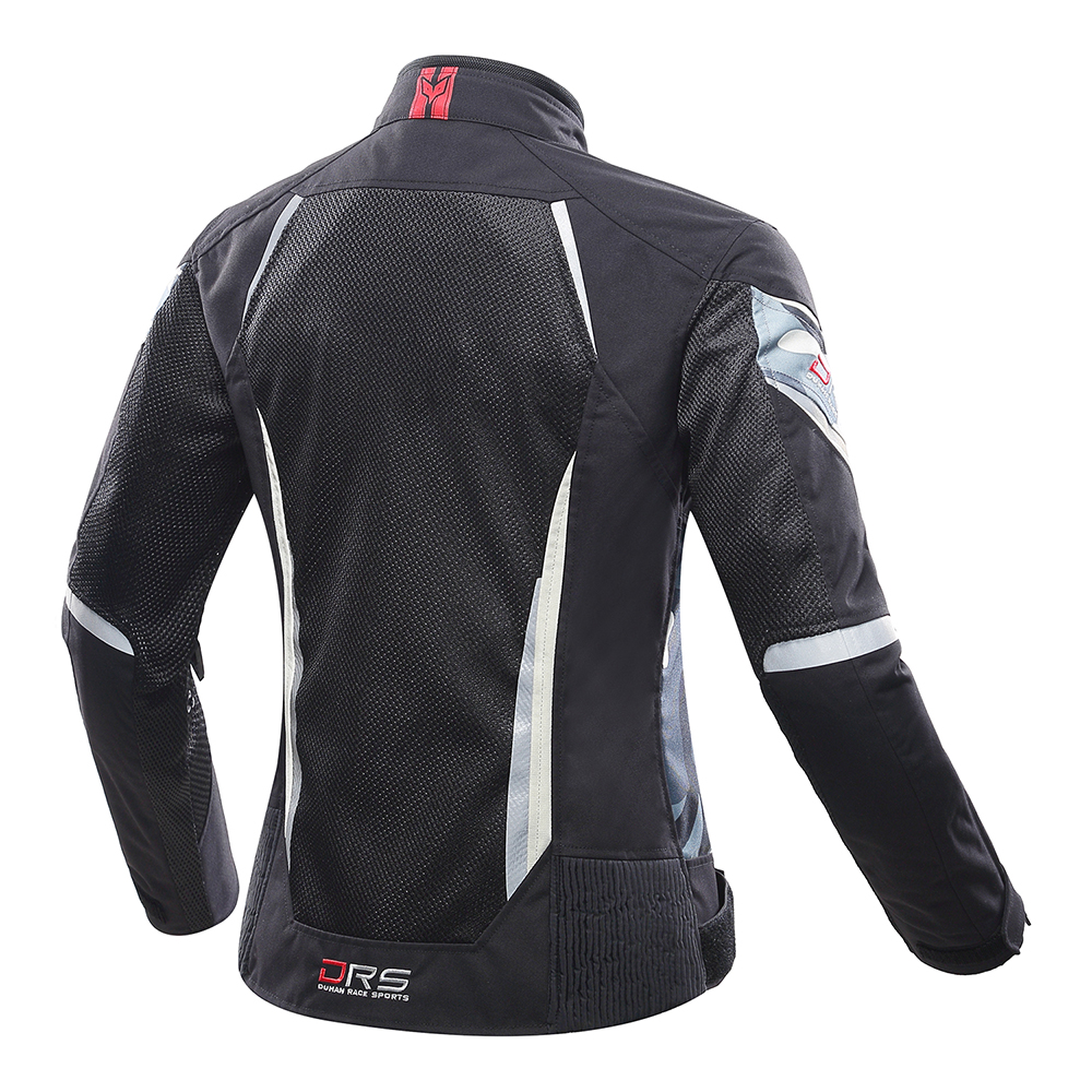 Image 3 - DUHAN Women Motorcycle Jacket Summer Breathable Mesh Moto Jacket Protective Gear Motorcycle Suit Motorbike Clothing Set Black-in Jackets from Automobiles & Motorcycles