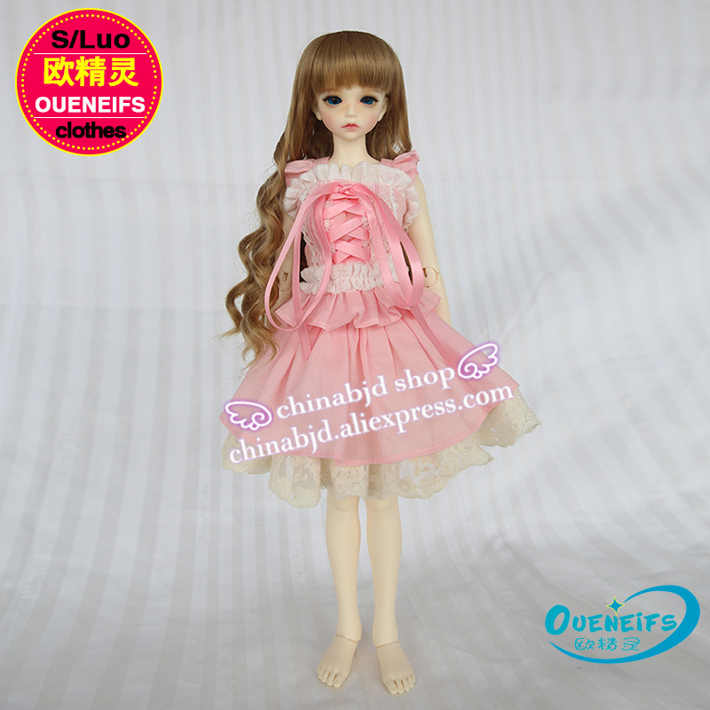 OUENEIFS free shipping girl body Sleeveless kilt 1/4 bjd sd doll customization clothes have not doll or wig YF4-22