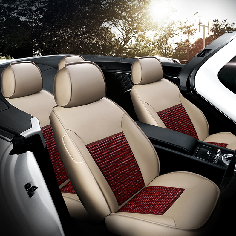 Custom Leather Car Seat Covers For Automercedes W212 Bmw