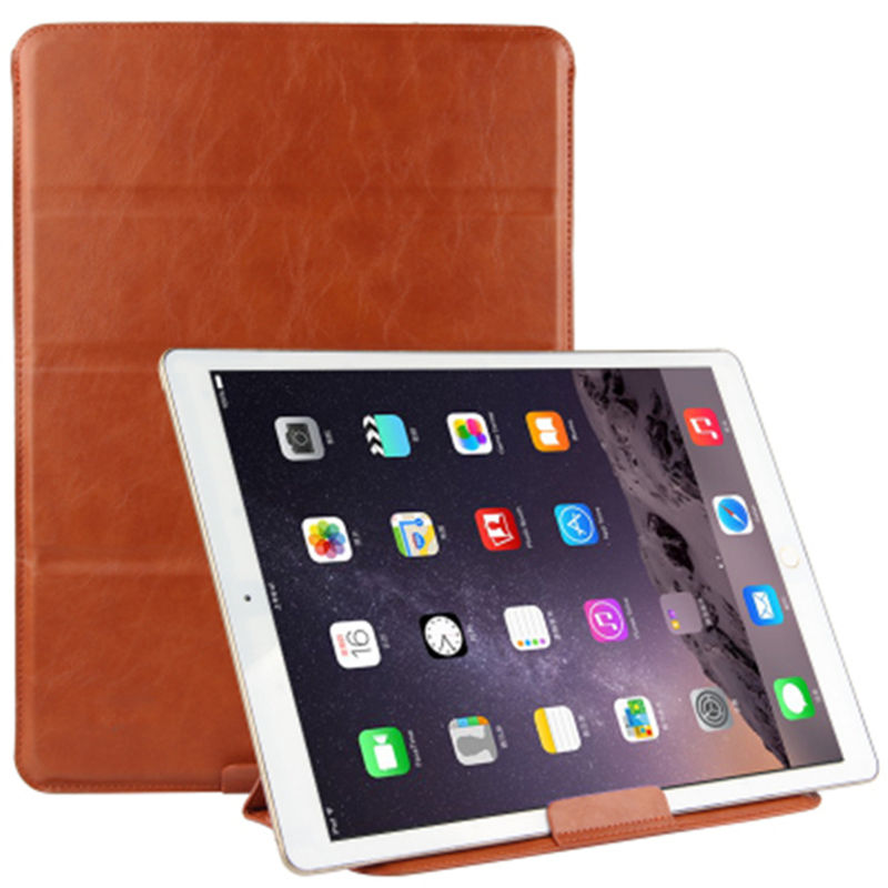 Case Sleeve For Apple iPad Pro 12.9 New 2017 Protective Smart cover Leather Tablet For iPad12.9 ipad pro12.9 Cases PU Protector surehin nice smart leather case for apple ipad pro 12 9 cover case sleeve fit 1 2g 2015 2017 year thin magnetic transparent back