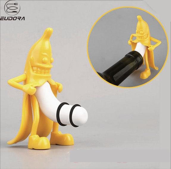 Eudora Kreatywny Wina Korek Kreatywny Pan Banana Butelka Wina Zła