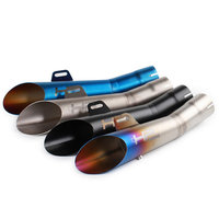 Motorcycle Exhaust Pipe Muffler Motorbike Motorcross Scooter Escape Akrapovic Modified Exhaust System GY6