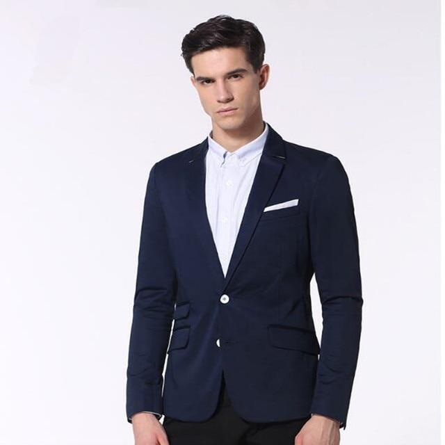 f4aeb4fdeb Chaqueta de boda hecho a medida trajes de hombre azul smokinges del novio  mejor hombre de