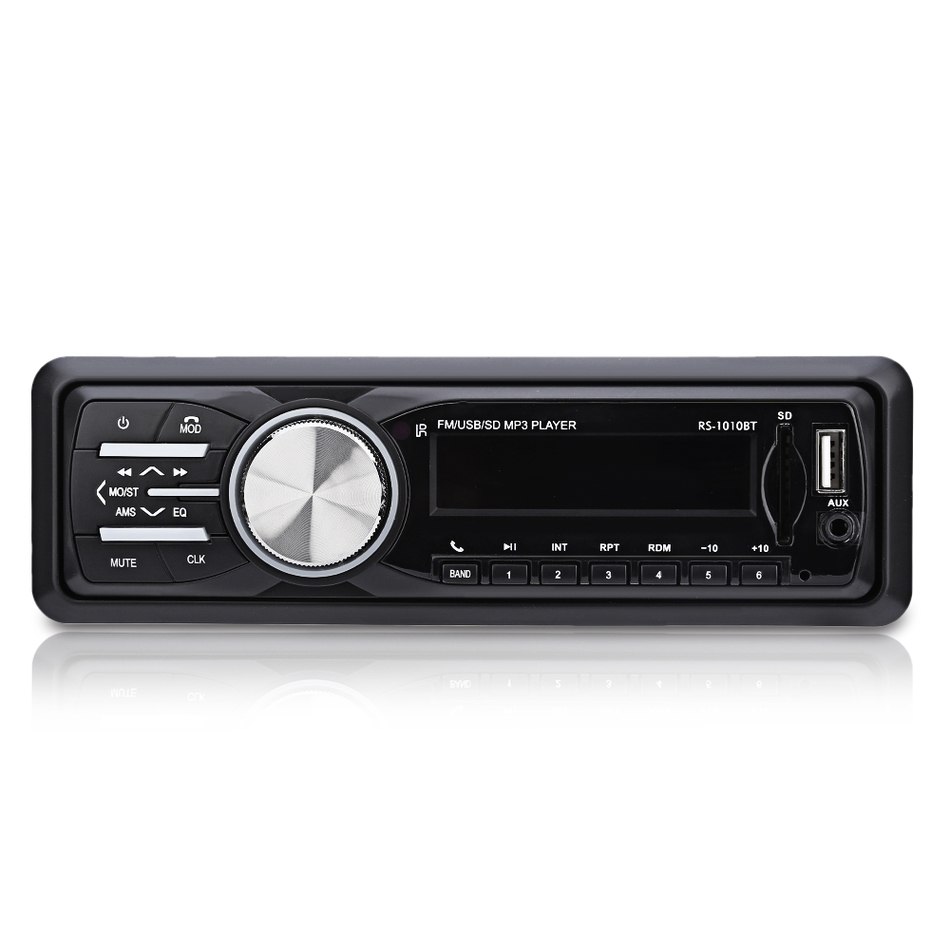 1 Din FM Bluetooth Auto Audio In-dash 12V Car Radio Support Stereo Music Remote USB SD Mp3 Player AUX Tyco Opel Hands-free