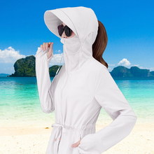 цена на Summer Sun protection and UV protection women jacket Fashion beach casual Long sleeve Thin coat pink Woman Outdoor sports tops