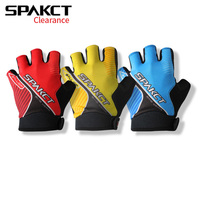 Spakct CLEARANCE High Quality Cycling Gloves Half Finger Workout Gym Sport Gloves For Cycling MTB Road
