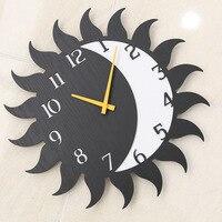 Mandelda estilo Europeo al por mayor del antiguo arte reloj reloj personalidad salón reloj mudo país de América