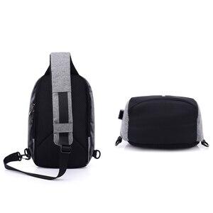 Image 2 - INHO CHANCY backpack school bag for teenagers design frame USB Charge Computer Backpacks Anti theft Waterproof for Men Women