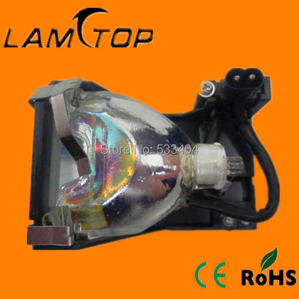Free shipping  LAMTOP compatible lamp with  cage for   EMP-S1SP free shipping lamtop compatible bare lamp for u310w