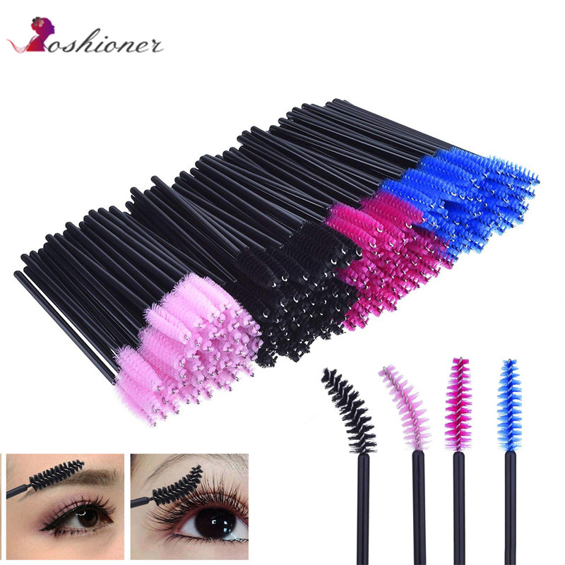 Disposable Eyelash Brush  Lip Brush Lash Extension Mascara Applicator Eyelash Brushes Mascara Wands Cosmetics Make Up tool(China)