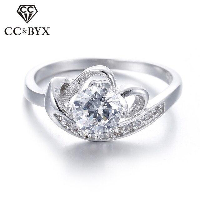 69f87783b424fc Belle Signore anello wedding band gioielli delle donne anelli di  fidanzamento per le donne cz gioielli