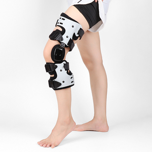 Image 1 - 관절염 인대를위한 oa 무릎 받침대 medial hinged knee support 골관절염 무릎 관절 통증 스포츠 unloading left right