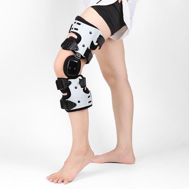 관절염 인대를위한 oa 무릎 받침대 medial hinged knee support 골관절염 무릎 관절 통증 스포츠 unloading left right