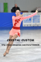 Crystal Custom Figure Skating Dresses Girls New Brand Ice Skating Dresses For Competition DR4527