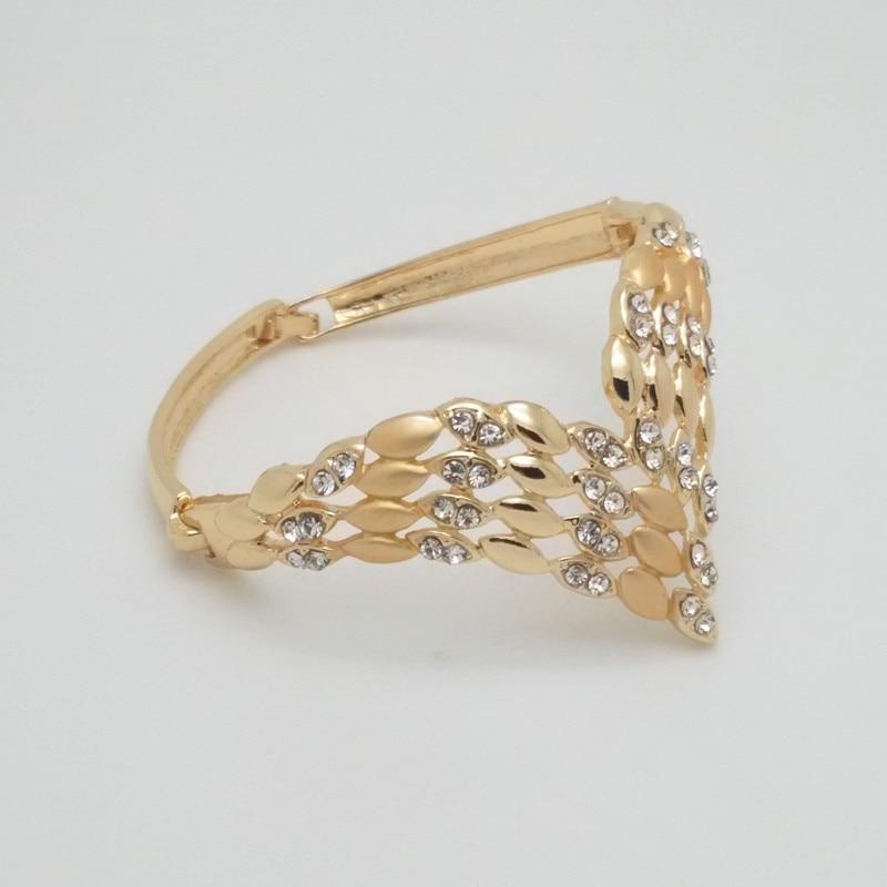 2019 Kingdom Ma Fashion African Dubai Gold Jewelry Women African Beads Set Nigerian Bridal Jewelry Sets Wedding Accessories in Bridal Jewelry Sets from Jewelry Accessories