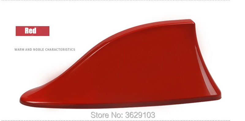 Car shark fin antenna <font><b>radio</b></font> signal refitting accessories car-Styling for <font><b>SEAT</b></font> leon <font><b>ibiza</b></font> altea alhambra image