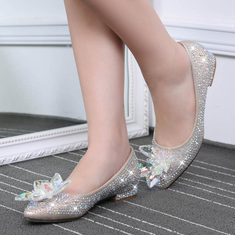 Flat sexy shoes
