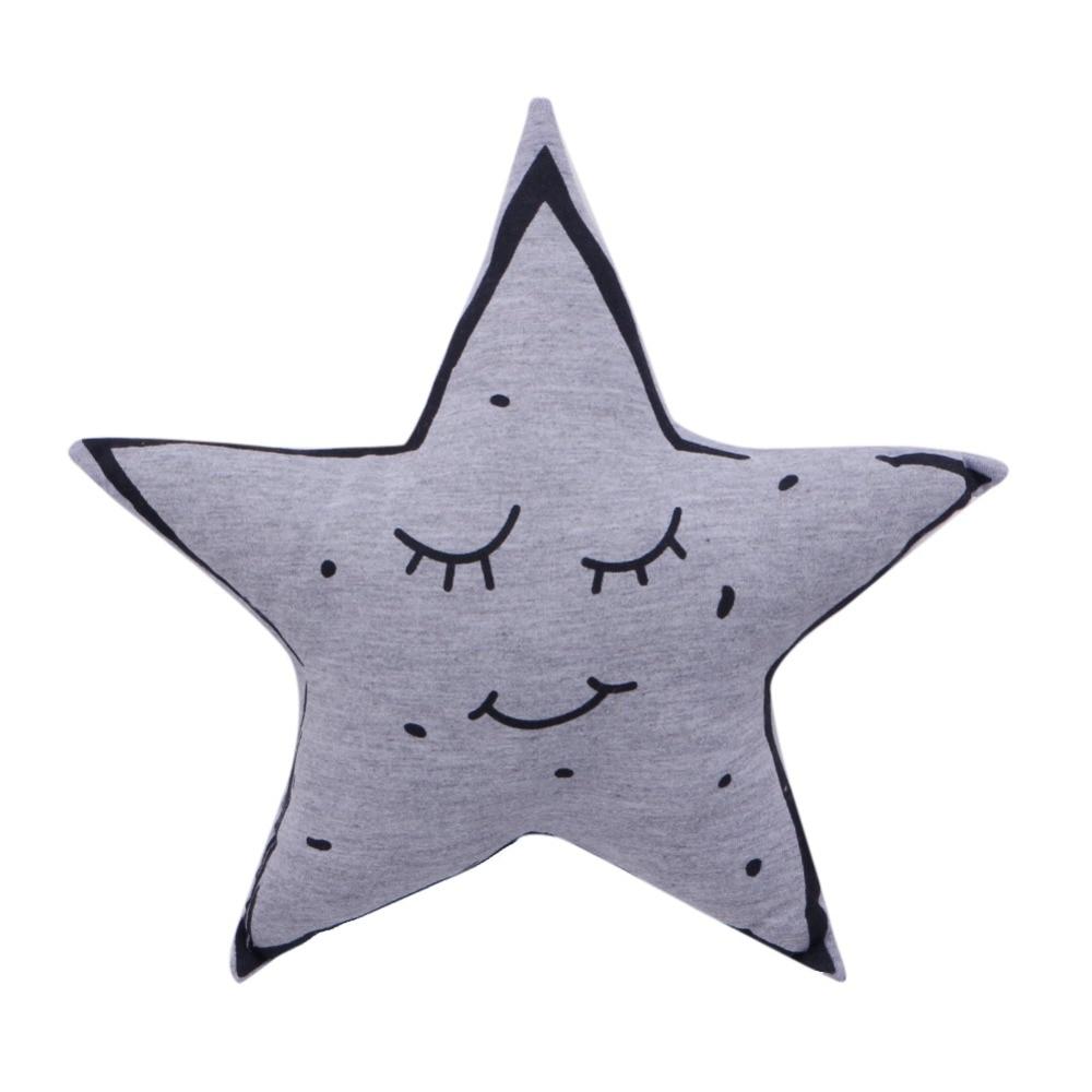 Moon Night Star Cushion Pillow Kids Child Christmas Xmas Gift Cute Pillows